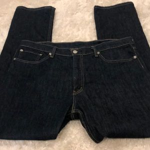 Men's Levi's dark denim jeans W36 L32